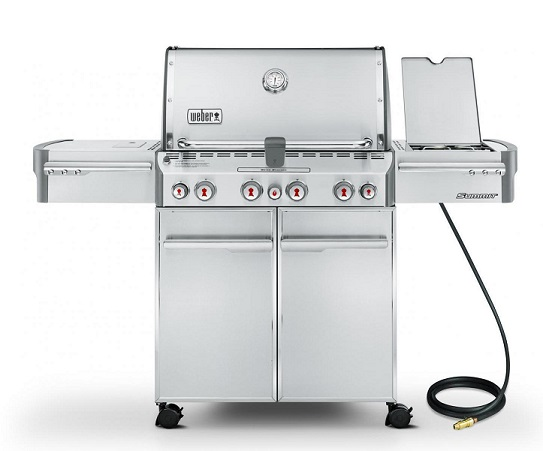 weber summit grill covers silver gold 400 and 600 series. Black Bedroom Furniture Sets. Home Design Ideas